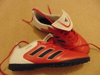 New! Adidas mens Copa 17.4 Tf red football astroturf boots, UK size 8