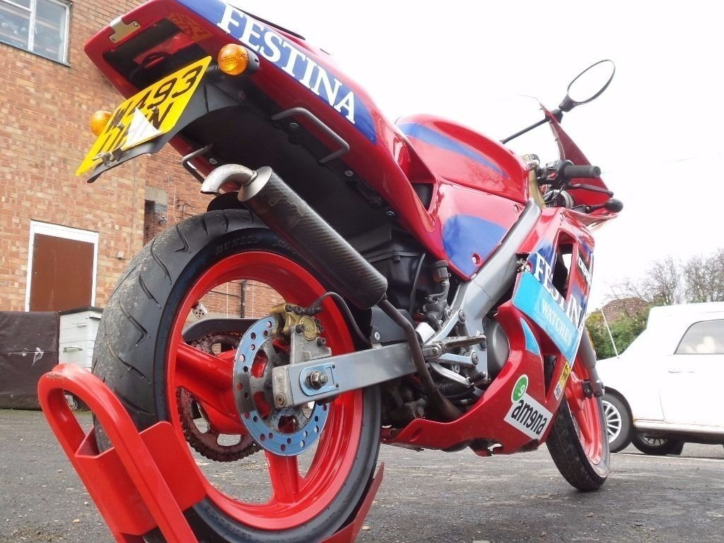 Derbi gpr50 festina moped 50 cc youichi ui race replica no293 of 1000 built long mot