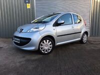 2007 PEUGEOT 107 1.0 URBAN *** FULL YEARS MOT *** similar to polo clio corsa punto jazz
