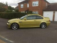 Bmw e46 M3 Phoenix yellow coupe 2004 ( immaculate).
