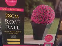 Solar rose ball