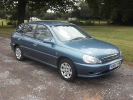 2001 KIA RIO 1.3, MOT AUGUST 2019, ONLY 14,000 MILES, FSH, 1 OWNER FROM NEW, £995