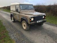 Land Rover defender 90 200TDI van 4x4 no vat