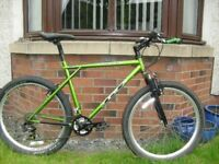 GT Timberline , mountain bike-perfect mechanical condition-just serviced-many new upgrades fitted