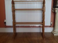 Pine Towel rail.