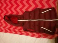 Jack Wills red sleeveless jacket