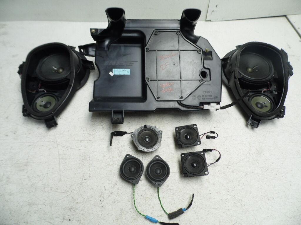 mercedes sl500 03 06 bose speaker set 10 speakers 8 pieces. Black Bedroom Furniture Sets. Home Design Ideas