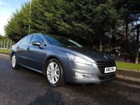 MAY 2012 PEUGEOT 508 ALLURE 2.0 HDI 163BHP 6SPEED FULL SERVICE HISTORY MAGNIFICENT VEHICLE TOP SPEC!