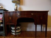 Large Antique Wooden Sideboard for Sale