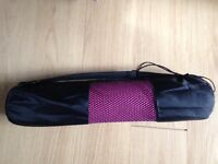 Yoga Pilates Mat with Carry Bag - WeRSports - new - £5