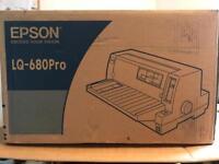 Brand new Epson LQ-680Pro printer