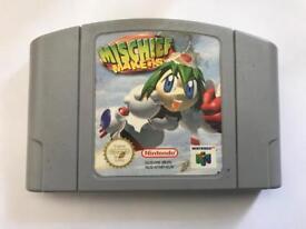 Nintendo 64 mischief makers game. N64