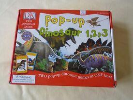 DK Pop-Up Dinosaur 1, 2, 3 Game - never used