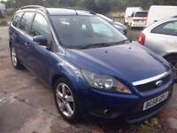 2009 58reg Ford Focus 1.6 Tdci Zetec Estate Blue