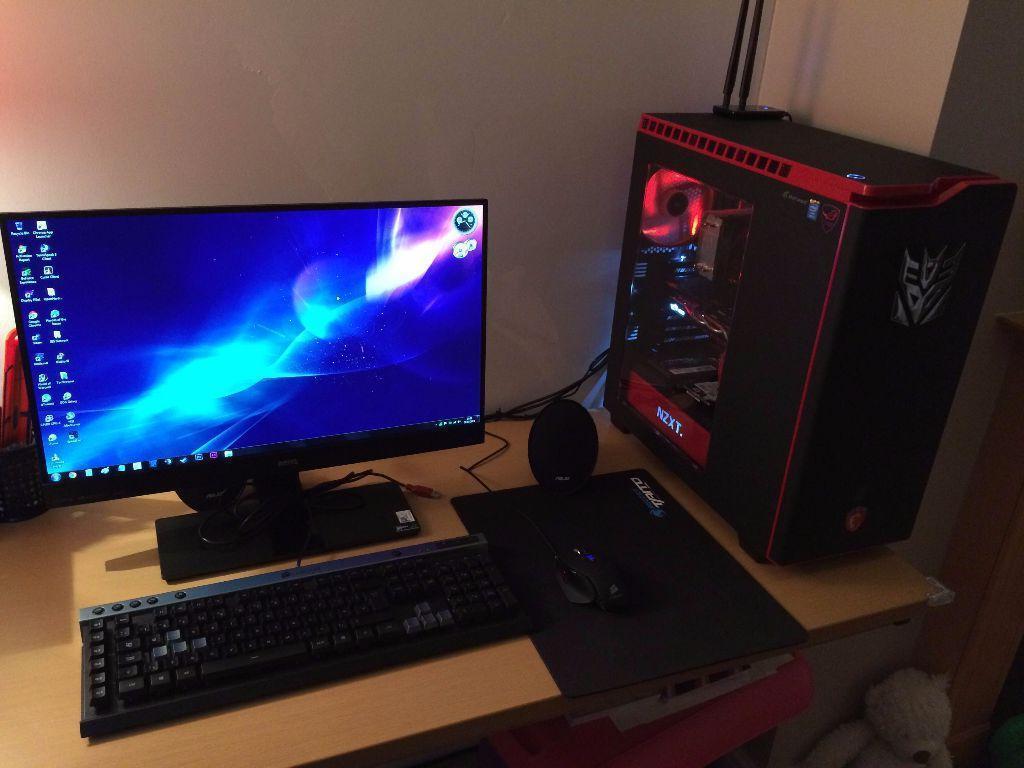 High End Gaming PC Full Desktop Setup I5 GTX960 4GB