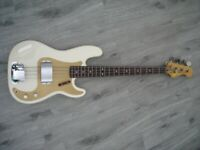 OLYMPIC WHITE PRECISION BASS--MANCHESTER