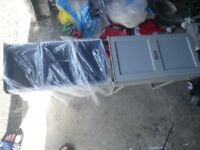 Under sink recycling bins