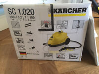 Karcher steam cleaner, as good as new!
