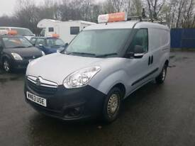 Vauxhall Combo, Diesel, 2013, One Owner, Finance available, 87,000 miles