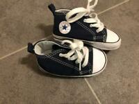 Baby/infant shoes size 4 converse & timberland