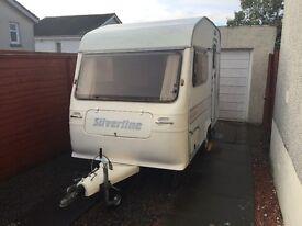 Silverline nova princess lightweight caravan