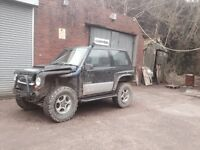 Suzuki vitara off roader off road 4x4 , 4x4 not jimmy sj disco land rover