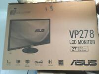 Monitor like new boxed Asus 27 inch FullHD Gaming