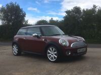 2007 Mini One 1.4 with Pepper Pack, Metallic Red, 9 Months Mot, Service History