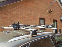 Thule Roof Bars and Cycle racks