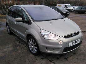 2009 59 FORD S-MAX ZETEC 1.8 TDCI 7SEATER DIESEL BLUETOOTH