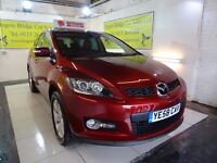 BAD CREDIT SPECIALISTS! PAY AS YOU GO!!MAZDA CX-7 4X4 REPRESENTATIVE PAR 29.92