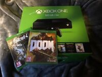 Xbox One 500GB Black (Boxed) - 11 month warranty - 2 games