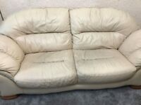 2&3 seater leather sofas