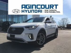 2017 Hyundai Santa Fe XL Limited/NAVI/LEATHER/7PASS/HID LIGHTS/O