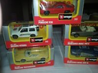 Burago 143 Diecast Model Cars Boxed