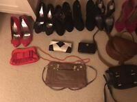 Job lot ladies shoes size 5 and bags