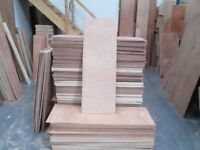 PLYWOOD OFFCUTS - OVER 35 FULL SHEETS WORTH INC DELIVERY