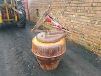 Tractor three point linkage pro driven cement mixer pro shaft included