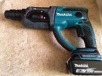 Makita hammer drill DHR202