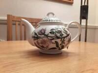Portmeirion teapot dog rose