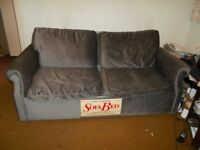 3 Seater Sofa Bed and 2 Chairs