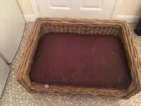 Selling beautiful dog bed RRP 250