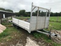 Extremely lightweight twin axle braked Aluminium trailer Superb tower & rock solid