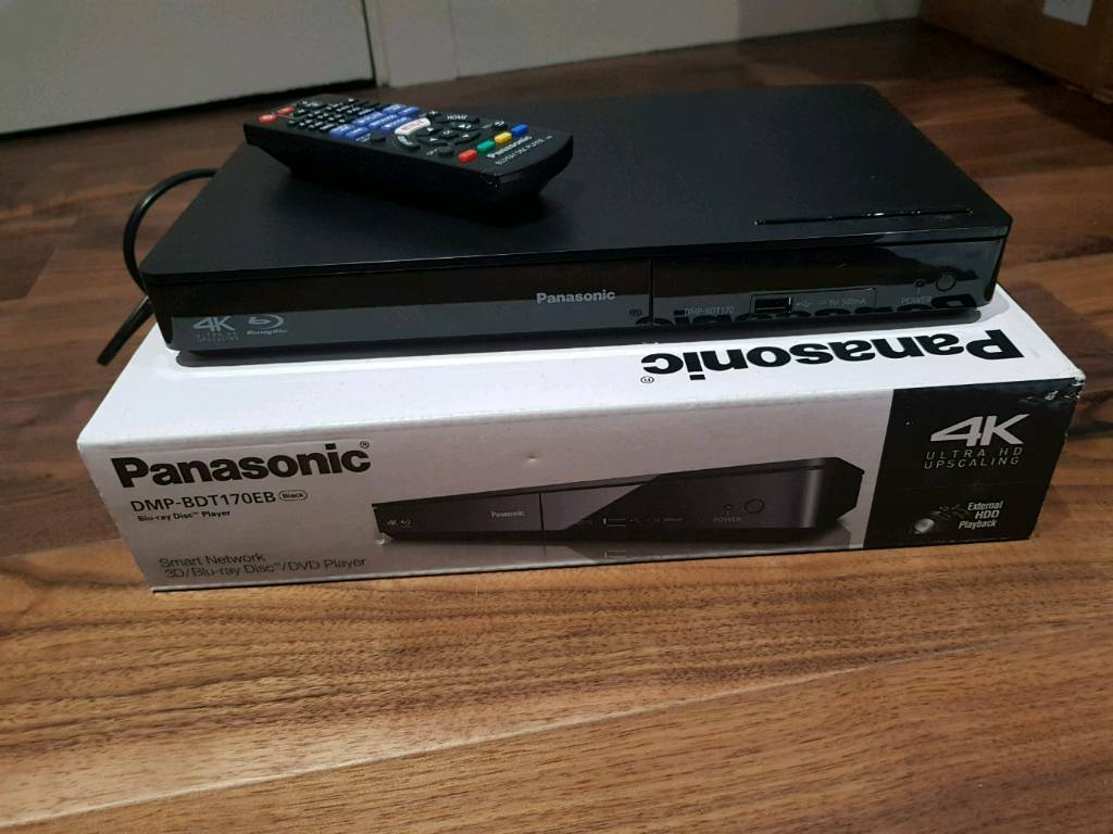Panasonic 4k Blu-ray/DVD Player