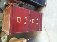 Cheap! file cabinet or side table great storage!