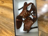 Celine leather high heels 5.5uk