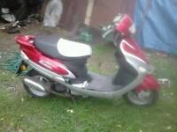 Baotian speedy 50 4 stroke scooter