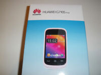 AS NEW HUAWEI PHONE - sold with or with NEW O2 sim
