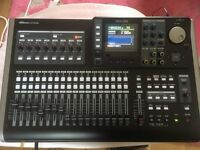 TASCAM DP-24SD DIGITAL PORTASTUDIO IMMACULATE CONDITION ONLY 5 MONTHS OLD