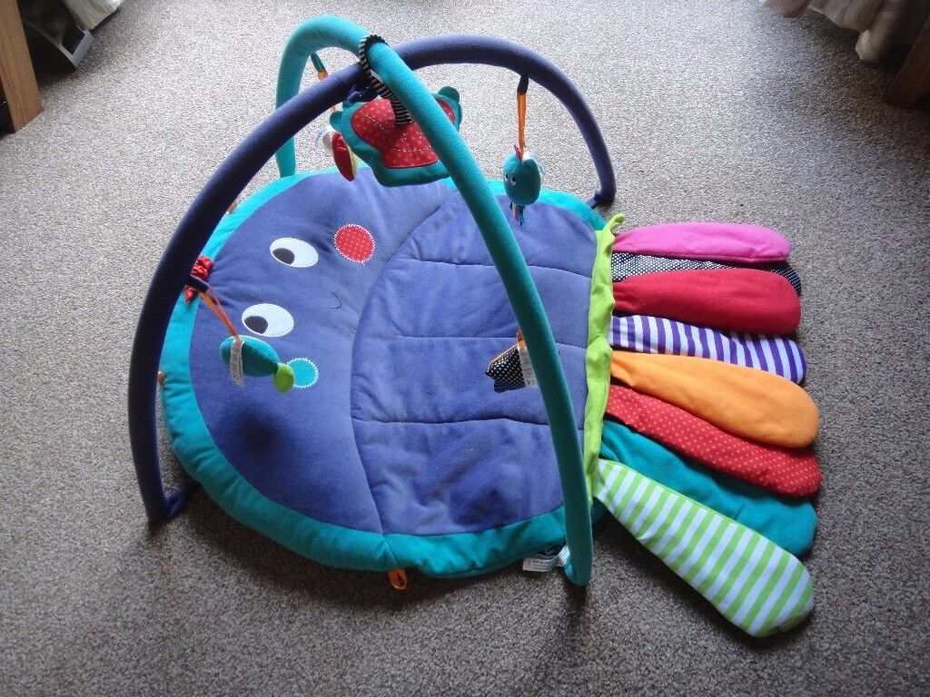 Mamas & Papas tummy time octopus baby toy